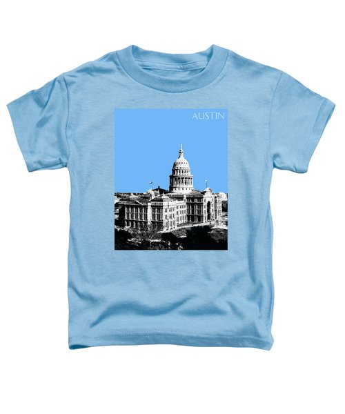 Austin Texas Capital - Sky Blue Toddler T-Shirt