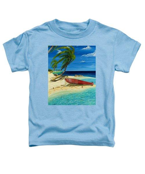 Bahama Beach Toddler T-Shirt