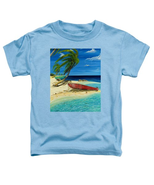 Bahama Beach Toddler T-Shirt