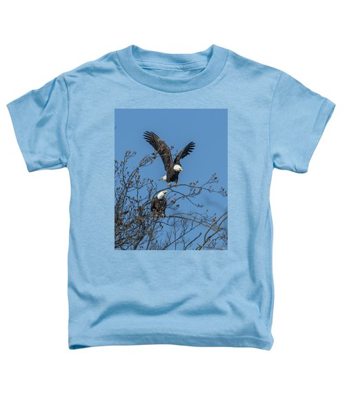 Bald Eagles Screaming Drb169 Toddler T-Shirt