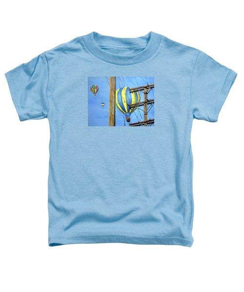 Balloon Race Toddler T-Shirt