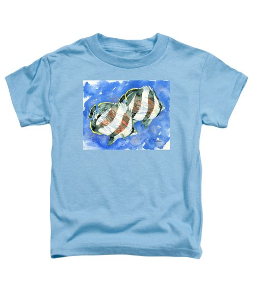 Banded Butterflyfish Toddler T-Shirt