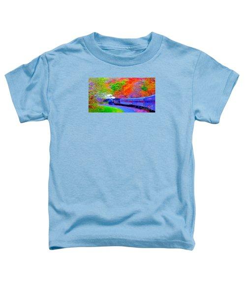 Bang Bang Choo Choo Train-a Dreamy Version Collection Toddler T-Shirt