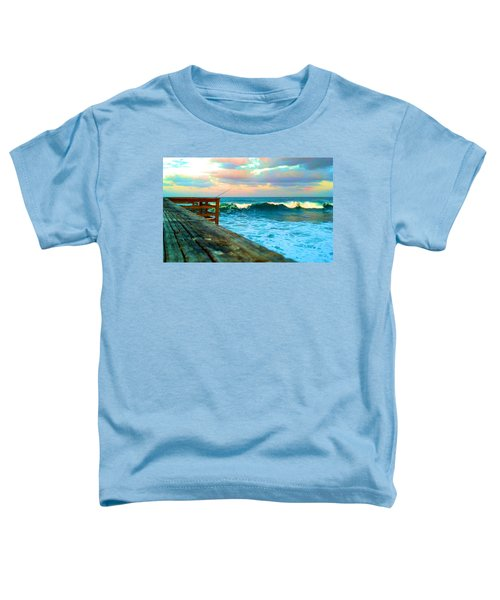 Beauty Of The Pier Toddler T-Shirt