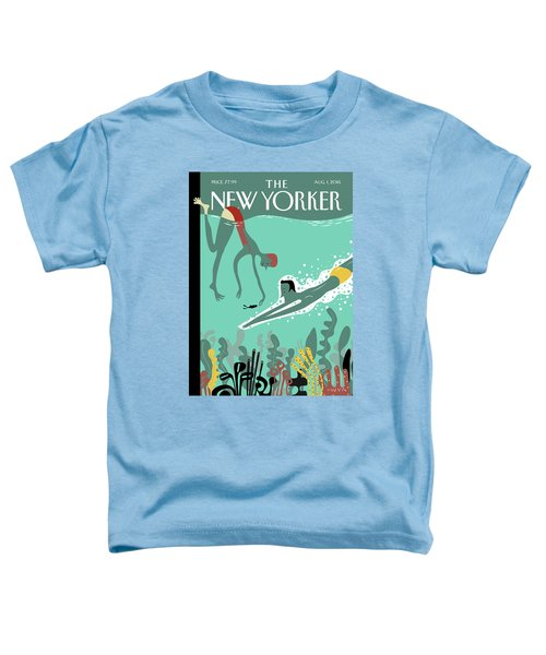 Beneath The Waves Toddler T-Shirt