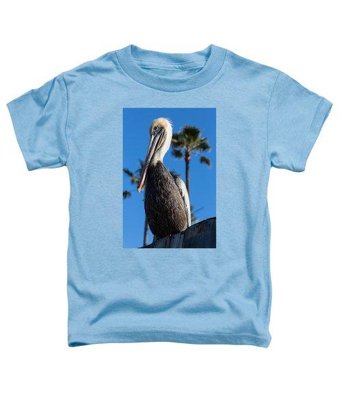 Blond Pelican Toddler T-Shirt