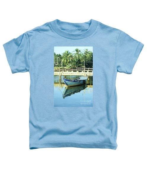 Blue Boat 02 Toddler T-Shirt