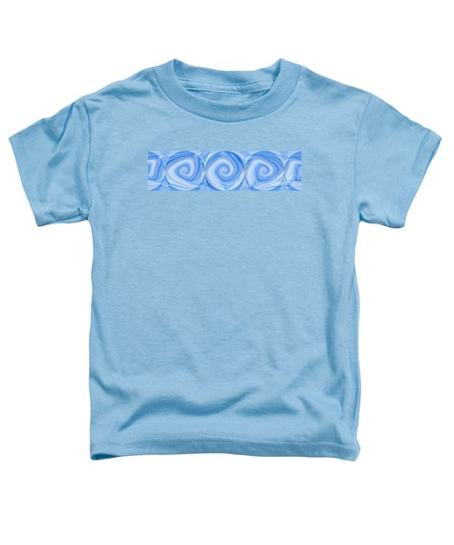 Blue Design Toddler T-Shirt