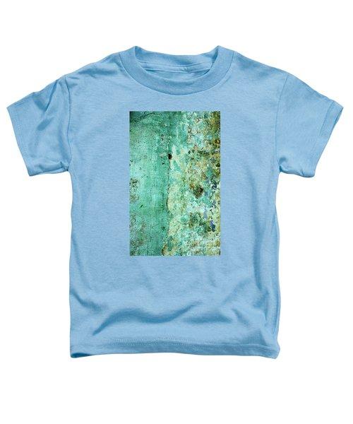 Blue Green Wall Toddler T-Shirt