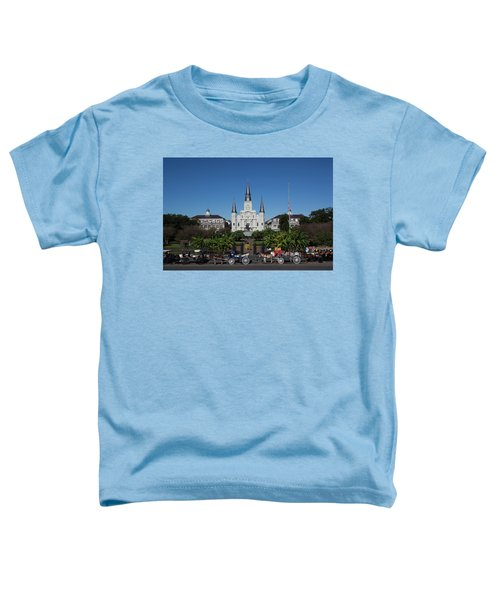 Carriages In Front Of A Cathedral, St Toddler T-Shirt