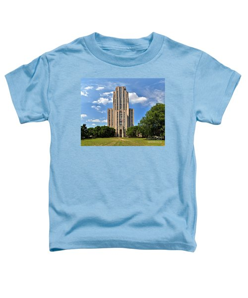 Cathedral Of Learning Pittsburgh Pa Toddler T-Shirt