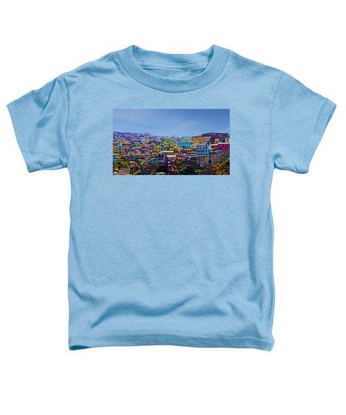 Cerro Artilleria Valparaiso Chile Toddler T-Shirt