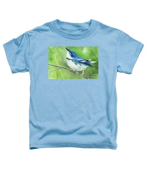 Cerulean Warbler Toddler T-Shirt