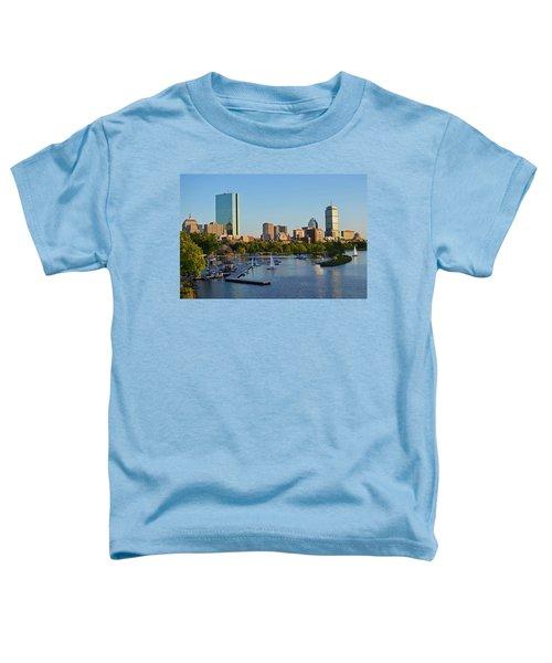 Charles River At Sunset Toddler T-Shirt