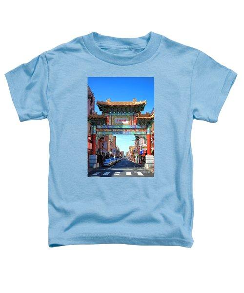 Chinatown Friendship Gate Toddler T-Shirt