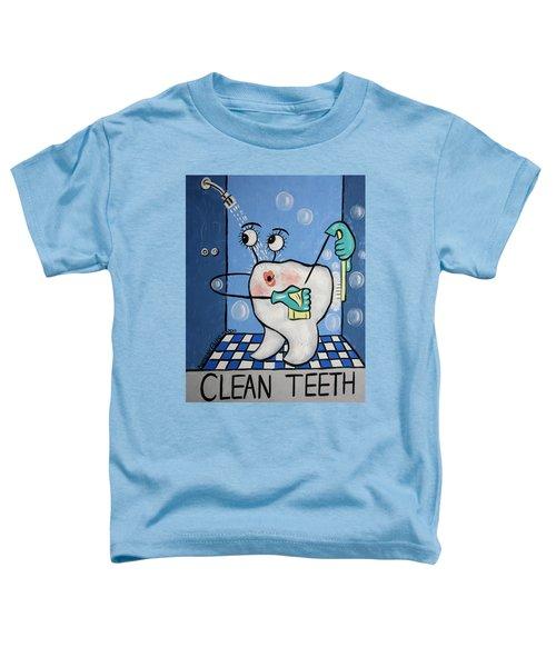 Clean Teeth Toddler T-Shirt