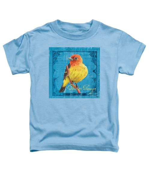 Colorful Songbirds 4 Toddler T-Shirt