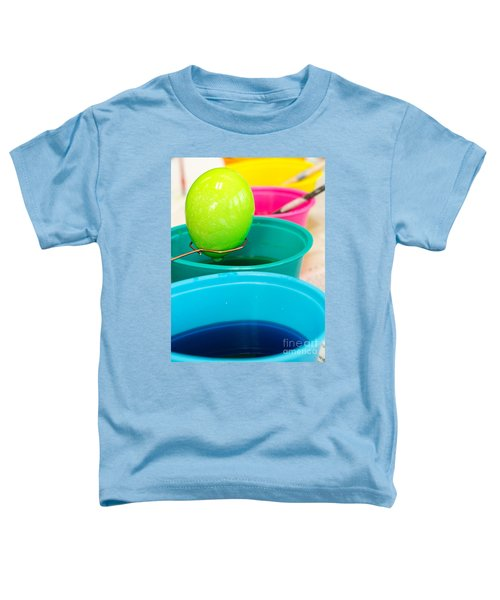 Coloring Easter Eggs Toddler T-Shirt