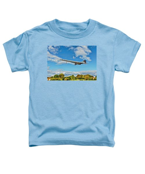Concorde On Finals Toddler T-Shirt