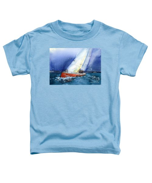 Crazy Coyote - Sailboat Toddler T-Shirt