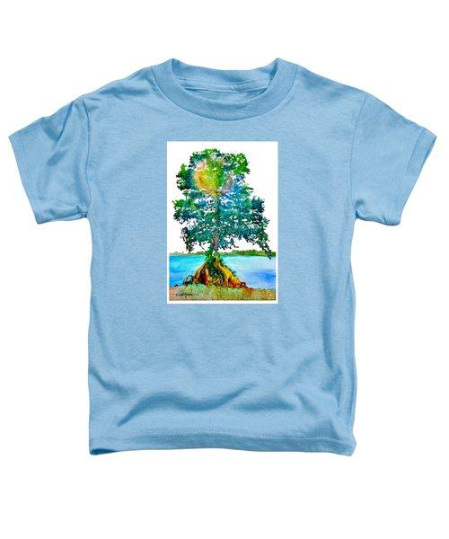 Da107 Cypress Tree Daniel Adams Toddler T-Shirt