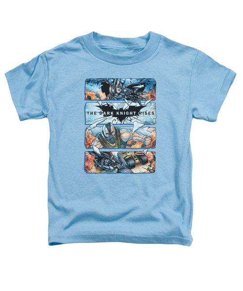 Dark Knight Rises - Shattered Glass Toddler T-Shirt