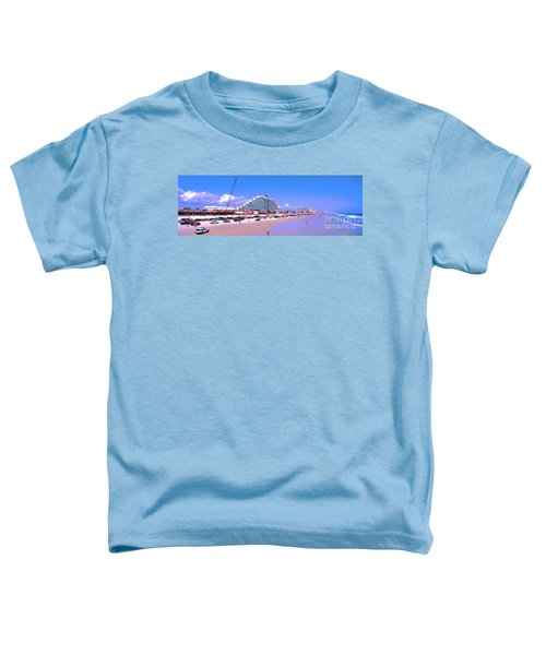 Daytona Main Street Pier And Beach  Toddler T-Shirt