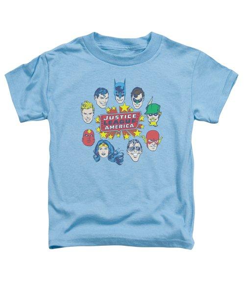 Dc - Justice Head Circle Toddler T-Shirt