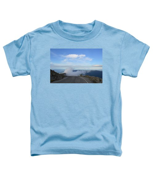 Descending Into The Clouds Toddler T-Shirt