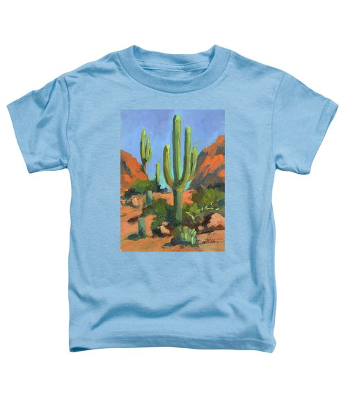 Desert Morning Saguaro Toddler T-Shirt
