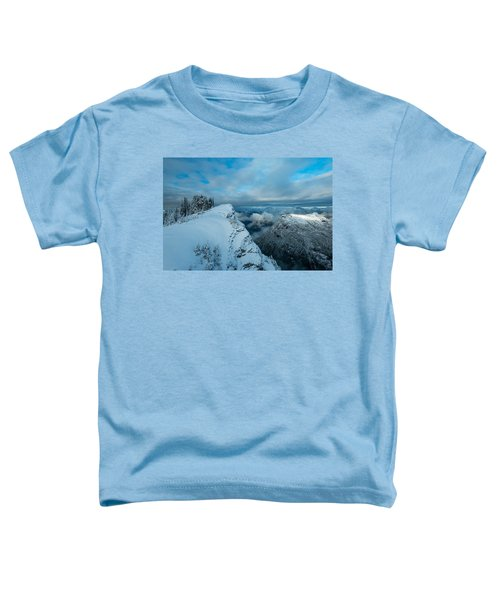 Dickerman Peak Toddler T-Shirt