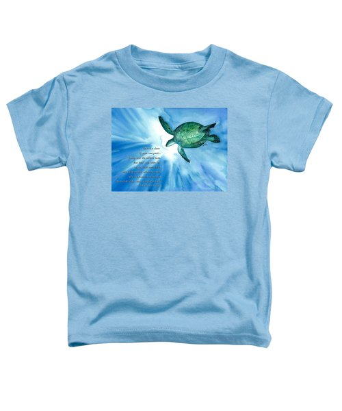 Dive Deep Toddler T-Shirt