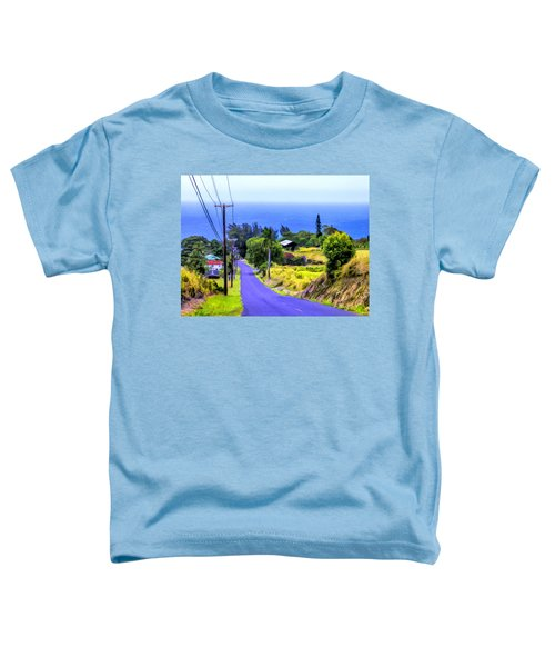 Down Into Honokaa Toddler T-Shirt