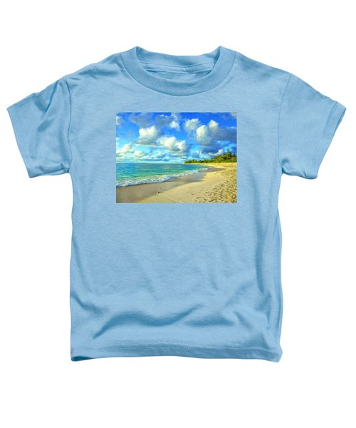 Early Morning At Sunset Beach Toddler T-Shirt
