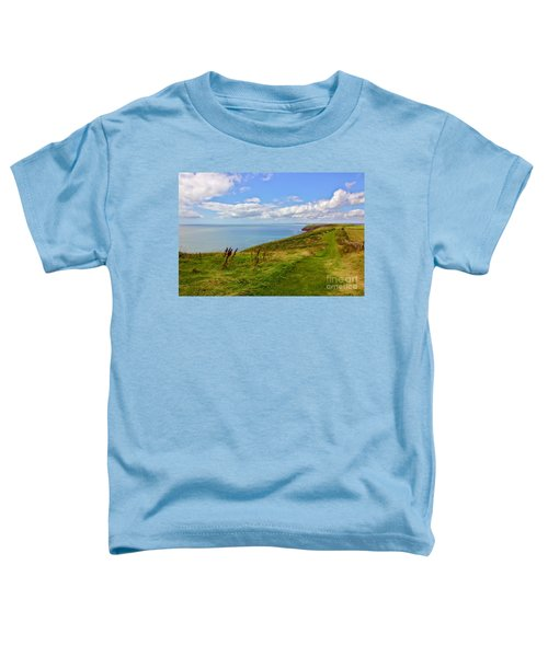 Edge Of The World Toddler T-Shirt