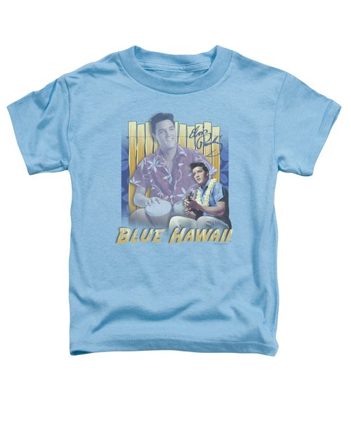 Elvis - Blue Hawaii Toddler T-Shirt by Brand A