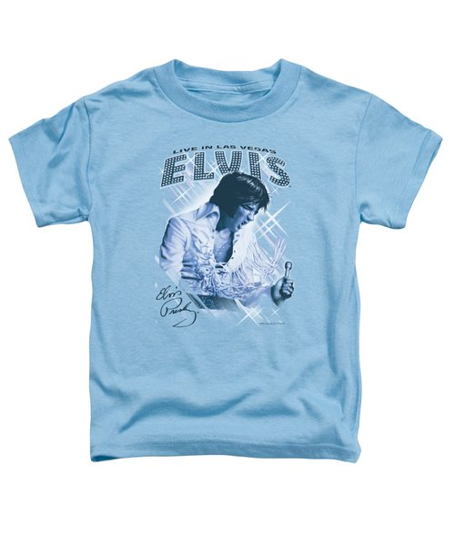 Elvis - Blue Vegas Toddler T-Shirt by Brand A