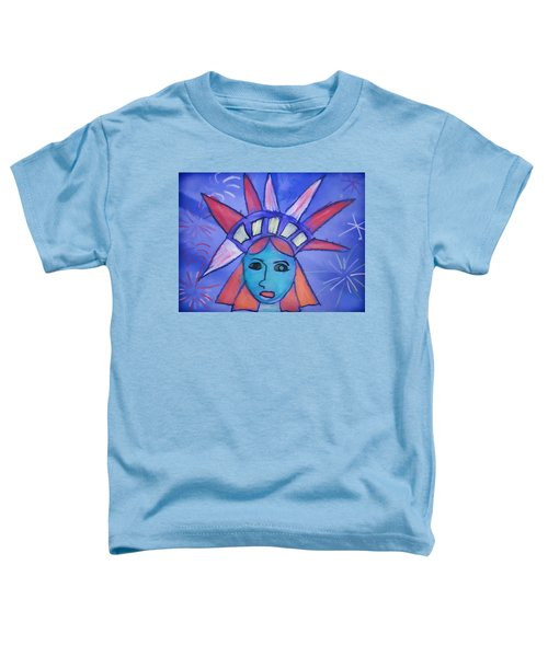 Emma's Lady Liberty Toddler T-Shirt