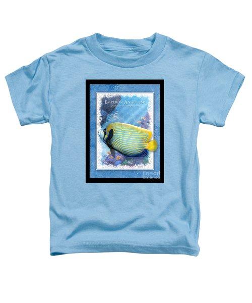 Emperor Angelfish Toddler T-Shirt