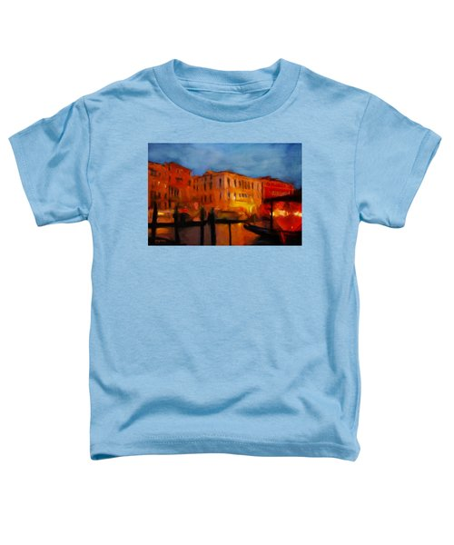 Evening In Venice Toddler T-Shirt