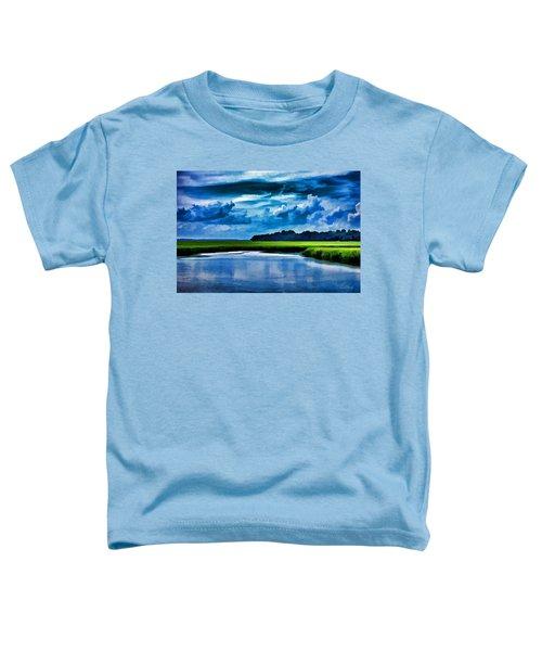Evening On The Marsh Toddler T-Shirt
