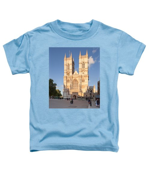 Facade Of A Cathedral, Westminster Toddler T-Shirt by Panoramic Images