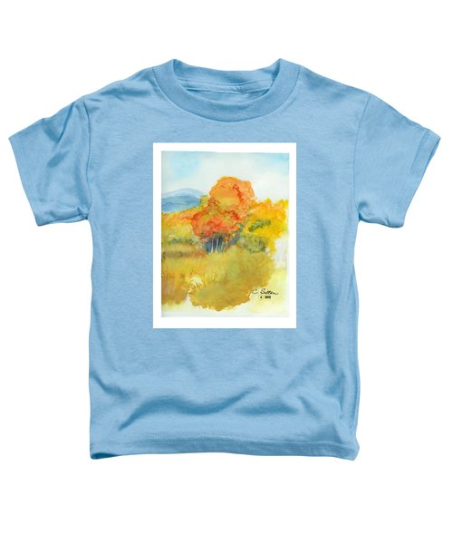 Fall Trees 2 Toddler T-Shirt