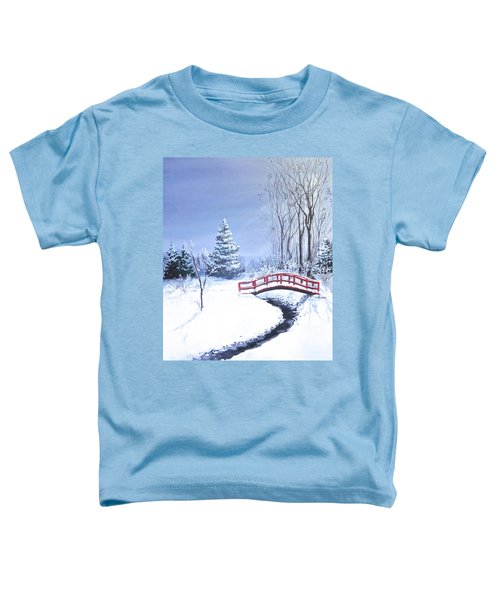 Fire And Ice Toddler T-Shirt