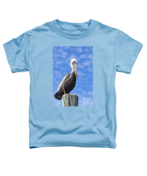 Florida Brown Pelican Toddler T-Shirt