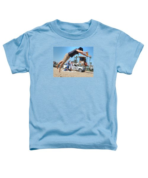 Flying Tourist Toddler T-Shirt