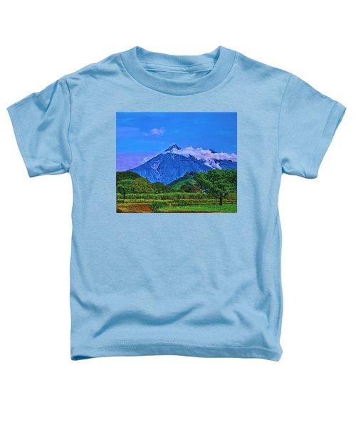 Fuego Volcano Guatamala Toddler T-Shirt