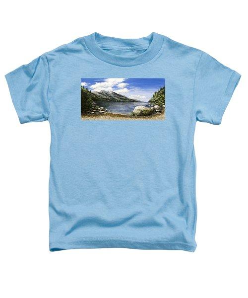 Gathering Moss Toddler T-Shirt