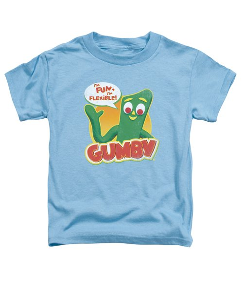Gumby - Fun And Flexible Toddler T-Shirt
