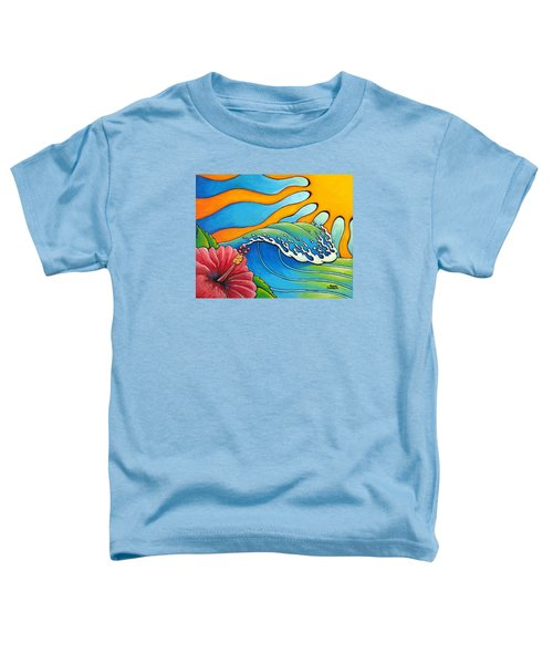 Hibiscus Wave Toddler T-Shirt